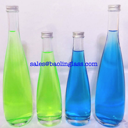 330ml 500ml spring water glass bottle