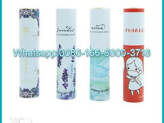 10ml Water transfer perfume Tube Bottles  Spray Refillable Atomizer Pocket Travel Twist Up Bottle