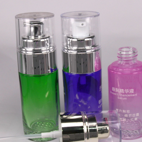 40ml 50ml liquid toner serum glass bottle