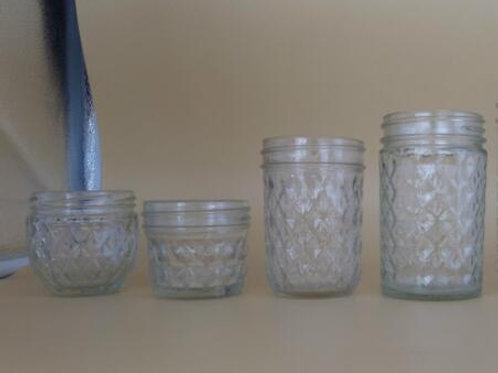 100ml Round Carved Jars For Caviar Jam