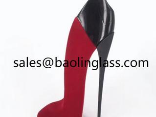 30ml 100ml high heel shoe perfume glass bottle