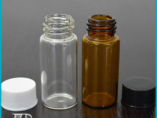 Amber glass bottles for essential oils, Aromatherapy, Perfume Samples