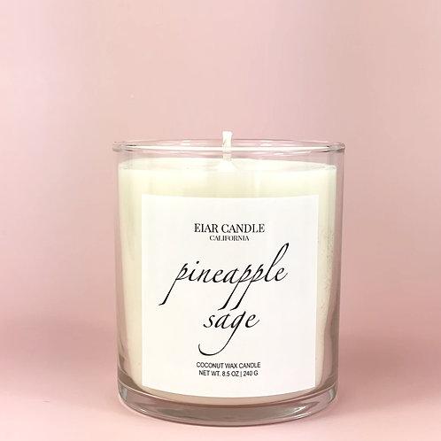 Pineapple+Sage Signature Candle