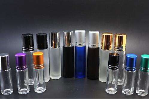 Mini Travel Glass Roll on Bottle