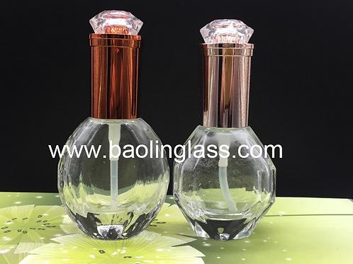 40ml 50ml skincare glass lotion bottle