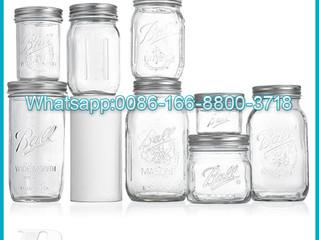16oz 32oz Mason Wide Mouth Quart Jars with Lids and Bands glass mason bottle glass honey jar