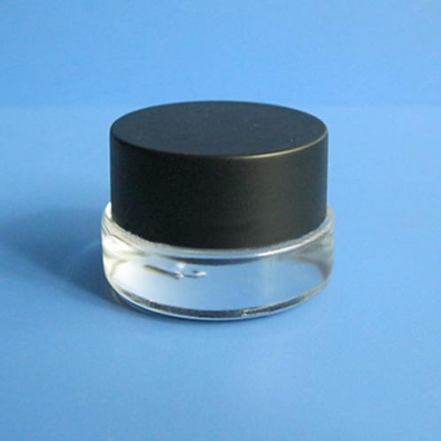 3ml 3g eye cream mini glass jar sample glass container