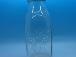 1000ml 1liter milk glass bottle