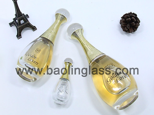 Sexy Woman Idor Perfume Glass Bottle