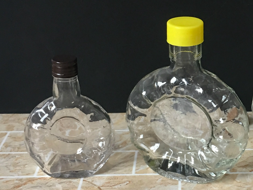 50ml 125ml small xo liquor glass bottle