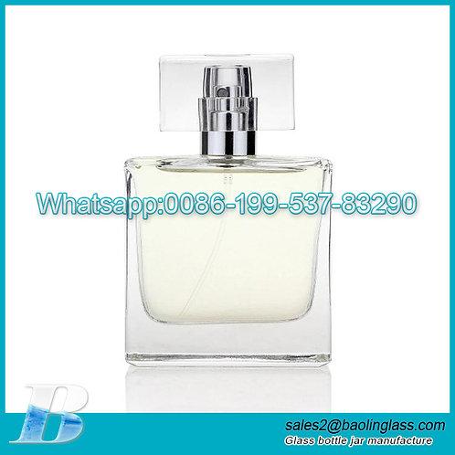 50ml manufacturer wholesale Clear liquor atomizer screw spray pump perfume empty