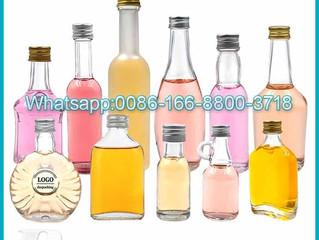 30ml 40ml 50ml 100ml Clear Mini Beverage Juice Coffee Wine Whisky Vodka Spirit Liquor bottle