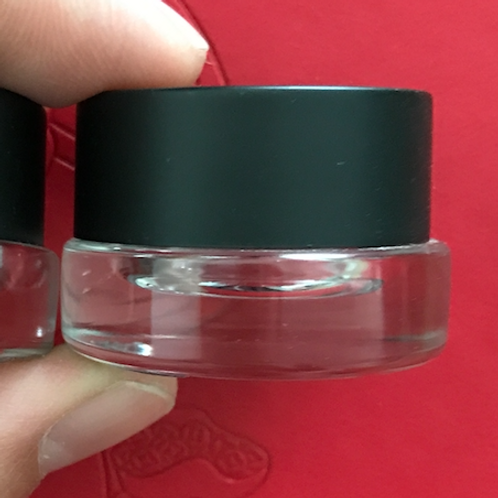 3ml mini eye care glass jar 3g glass container