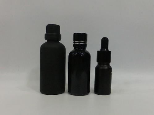 10ml 30ml 50ml black essential oil glass bottle