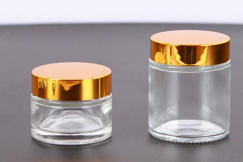 100ml skin care cream glass container