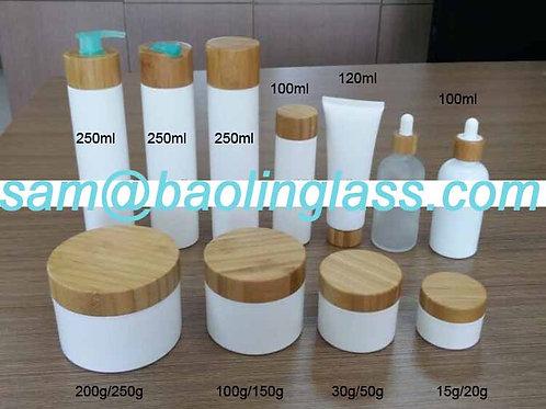 Environmental Bamboo Cream Bottle-50ml/30ml