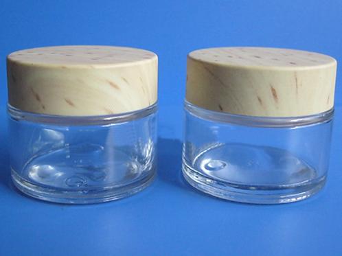 25ml skin care cream glass bottle