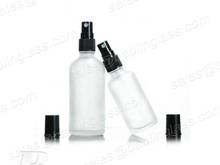 50ml 100ml Frosted Glass Flacon Spray Bottle with Mist Fine Spray