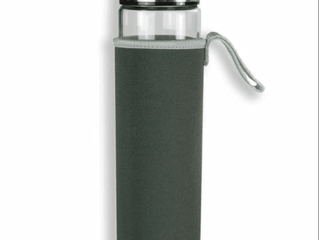 Portable Borosilicate Glass Water Bottle