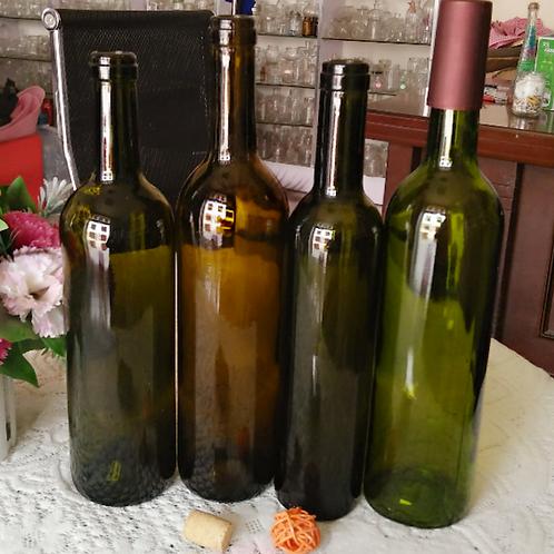 750ml champagne or sparkling wine bottles
