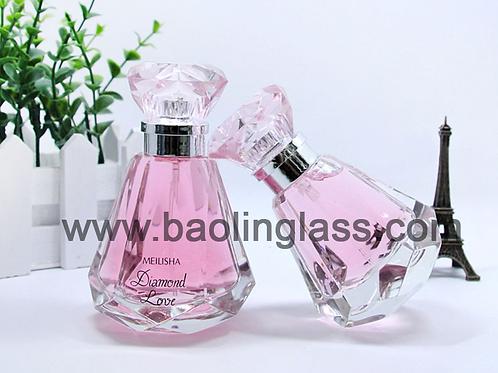 50ml diamond crystal perfume bottles