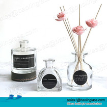Clear Glass Perfume Aromatherapy Diffuser Bottle
