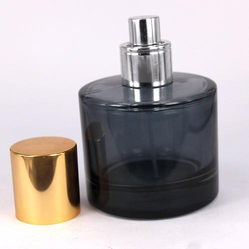50ml black round perfume glass bottle