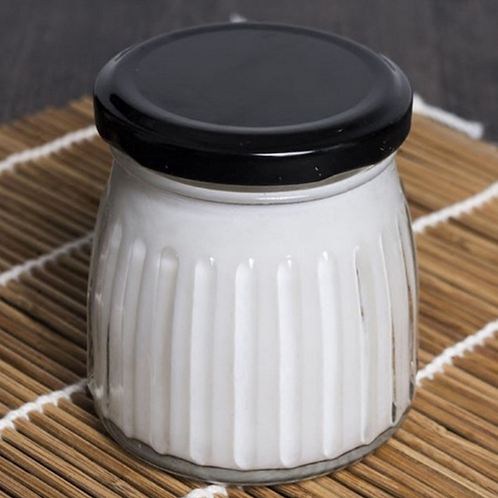 200ml glass pudding or yoghourt jar