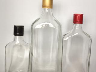 100ml 250ml small spirit glass bottle