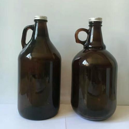 64oz 2L amber beer growler wine mug