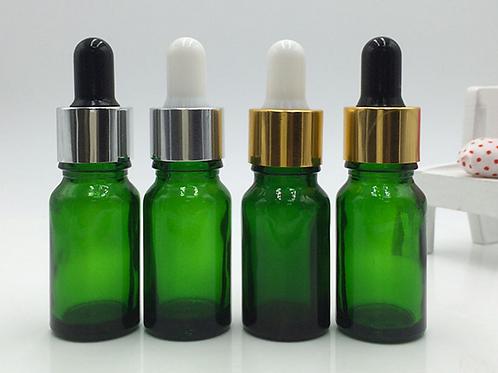 5ml 10ml green essential oil glass bottle