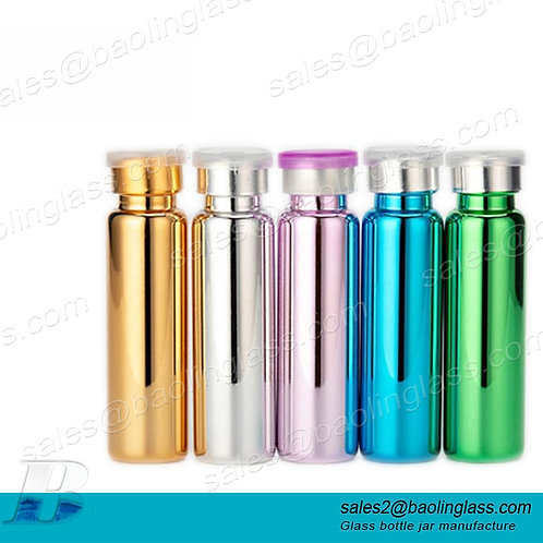 5ml 7ml 10ml medicine sterile vial clear tube glass vial supplier with stopper