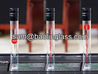 100ml cool liquor tube bottles for sale