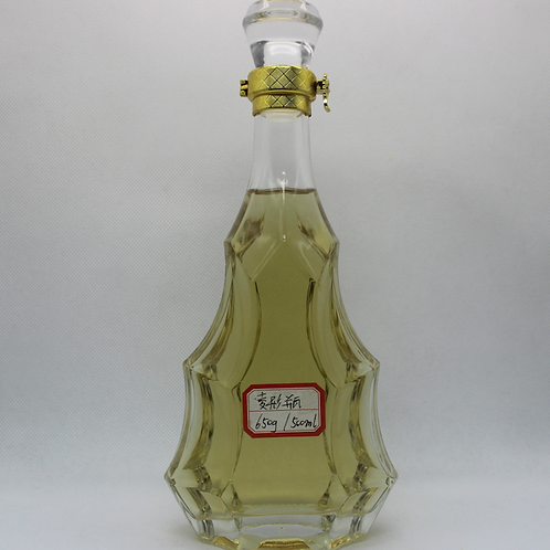 500ml high top quality diamond shape vodka glass bottle