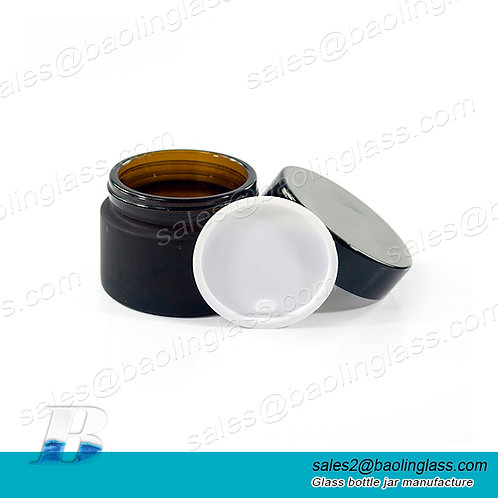 100g Cosmetic Packaging High Quality  Cream Glass Bottle Cosmetic Glass Jar