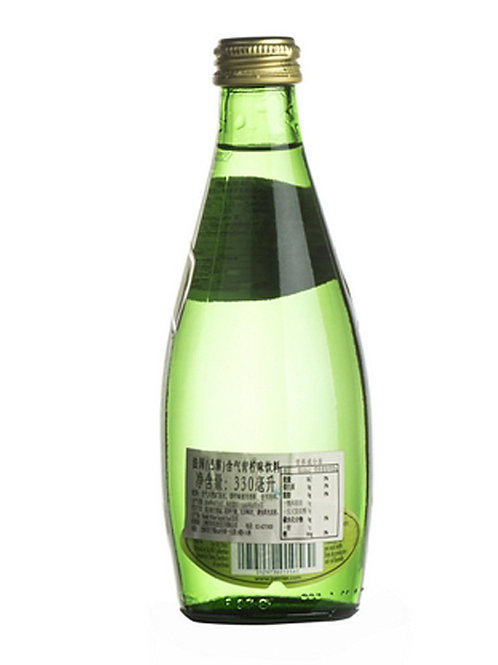 330ml Premium sparkling or mineral water glass bottle