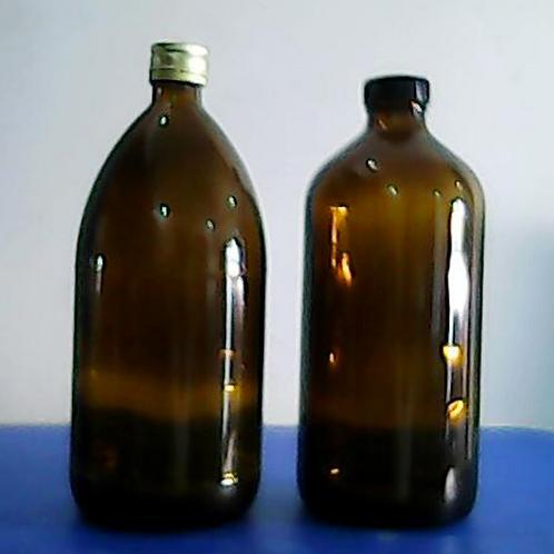 1000ml amber reagent glass bottle