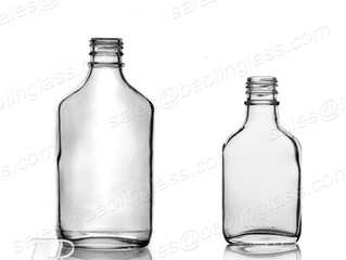 375ml Glass Flask Bottle