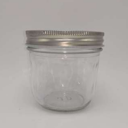 100ml caviar glass jar jam glass bottle