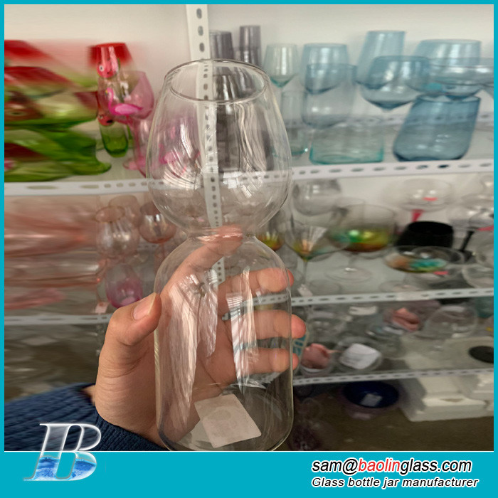 big mouth ultimate wine glass bottle cup