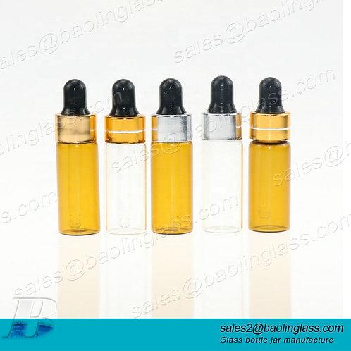 amber glass bottle screw cap amber glass essential oil bottle dropper essential