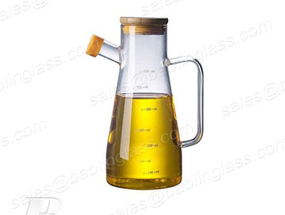 500ml Large Capacity Glass Oil Dispenser Galos