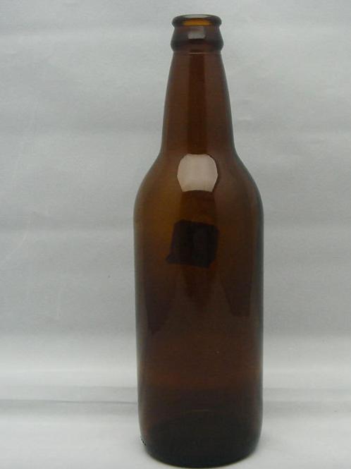 500ml brown beer glass bottle