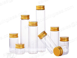 Empty Test Tube Transparent Clear Bottles Glass Bottles