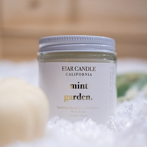 Mint Garden Petite Aurum Candle
