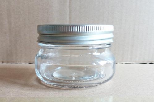 150ml glass jelly/pickle/jam/caviar glass ball mason jar