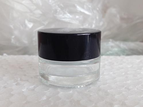 5ml 10ml 15ml small cosmetic cream sample glass jar