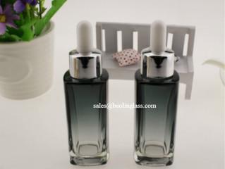 30ml essence oil liquid glass dropper bottle