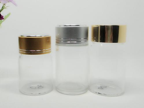 100ml clear borosilicate glass medicine pill bottle