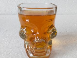 100ml skull glass shot skull head glass cup
